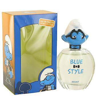 The Smurfs Blue Style Brainy Eau De Toilette Spray By Smurfs 3.4 oz Blue Style Brainy Eau De Toilette Spray