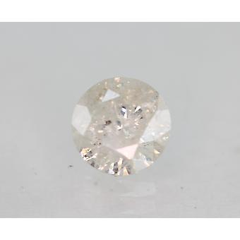 Sertifioitu 0,73 karat F Väri Pyöreä Brilliant Natural Löysä Timantti 5,72mm