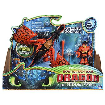 Dreamworks how to train your dragon hookfang and snotlout