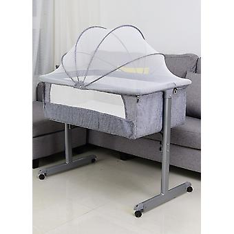 New European Style Crib Baby Butt Bed Splicing Bed