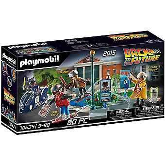 Playmobil Back To The Future Part 2 Hoverboard Playset