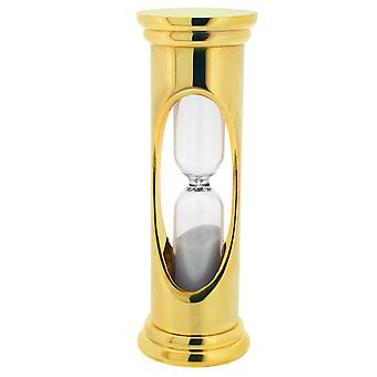 GTP Unisex 70x27mm Gold Plated on Alloy Glass 3 Minute Sand-Timer IMP801/G
