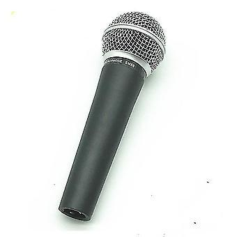 Professionell dynamisk vokal mikrofonspole dynamisk cardioid enkelriktad handhållen datorkonferens karaoke mikrofon