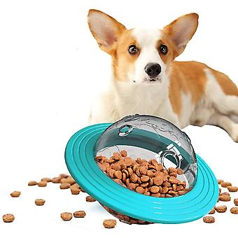 Dog Treat Ball Toy, Food Slow Feeder Ball Interactive Dog Puzzle Toy