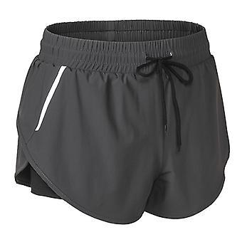 SPORX Women's Running Shorts Charcoal