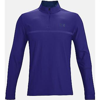 Under Armour Mens Play Off Zip Top Sweater Jumper Pullover Long Sleeve