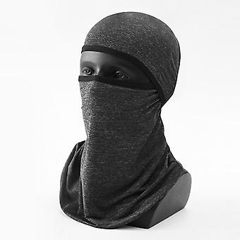 Venkovní led hedvábné sluneční pokrývky hlavy cyklistická maska větruodolná sluneční UV-odolný šátek pro muže a ženy