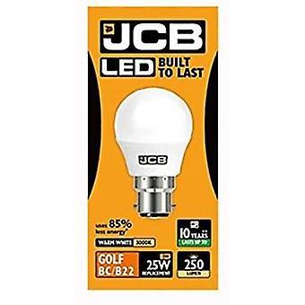 JCB LED Golf B22 Light Bulbs Bayonet  Warm White , Pack of 1
