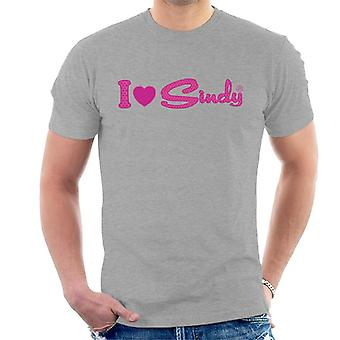 Sindy I Love Sindy Men's T-Shirt