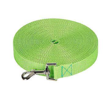 12M * 2cm hierba verde 50m correa de perro mascota, correa de seguimiento al aire libre para perros grandes az328