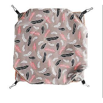 M gray double-layer pet hammock squirrel sugar glider hammock nest dt5603