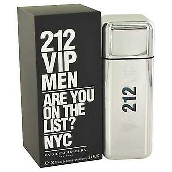 212 Vip By Carolina Herrera Eau de Toilette Spray 3.4 Oz (miehet)