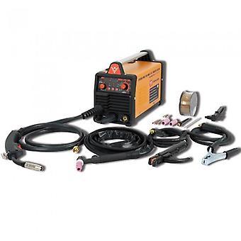 Widmann mig/tig/mma-160: 3 in 1 synergischer Wechselrichterschweißmaschine