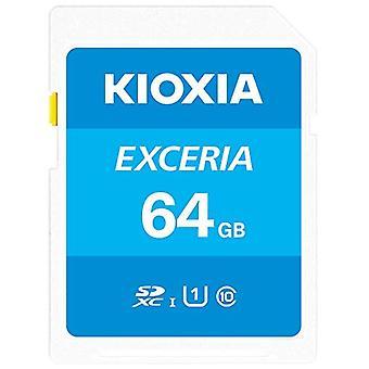 Kioxia 64GB Exceria U1 Class 10 SD card