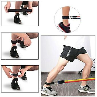 11 pc weerstand bands set pull rope gym home fitness workout crossfit yogatube