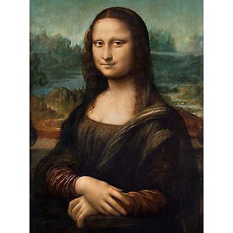Clementoni Museo Da Vinci Mona Lisa rompecabezas de alta calidad (1000 piezas)