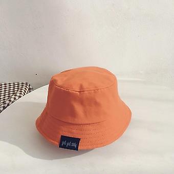 Baby hoed zomer vrije tijd solide emmer hoed unisex baby zonnekap kinderen jongen caps meisje visser hoeden