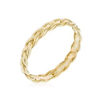 Anillo 'Twisted' Oro Amarillo