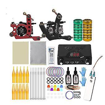 Coil Tattoo Machine Set Professional Tattoo Machine Kit voor beginner