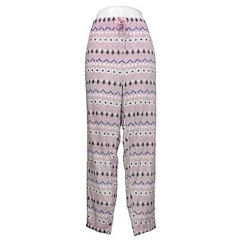 Soft & Cozy Women's Plus Pajama Pants Pink 662992