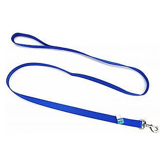 "Coastal Pet Single Nylon Lead - Blue - 6' Long x 1"" Wide"