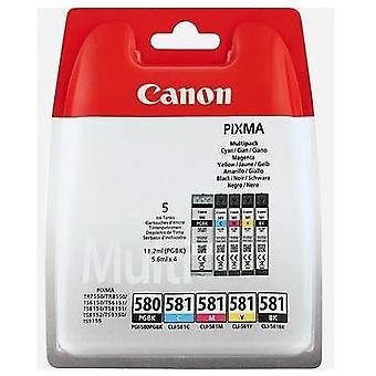 Canon 2078C006, Pigment alapú tinta, 11,2 ml, 5,6 ml, 1 darab, Multipack