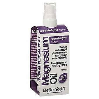 BetterYou, Magnesium Oil Goodnight Spray, 100ml