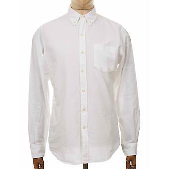 Colorful Standard Organic Button Down Shirt - Optical White