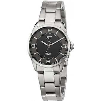 ONE (Eco Tech Time) Silver Stainless Steel ELS-12072-22M Women's Watch