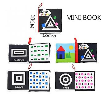 Baby Book Soft Cloth Books Toddler Newborn Early Develop Cognize Reading Puzzle Toys For Kids