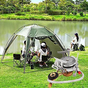 Cookout bärbar gasspisugn Delad brännare köksredskap utomhus camping