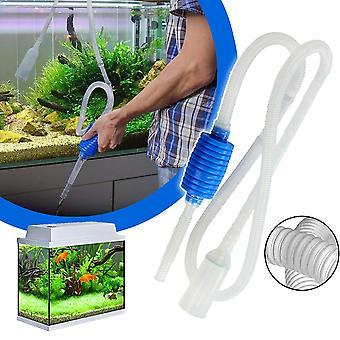 Aquarium Siphon Aquarium Syphon Staubsauger Pumpe Halbautomatischer Wasserwechselwechser
