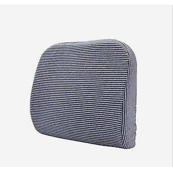Latex naturel Bureau Waist Cushion Car Chair Sofa Backrest Amovible and Washable