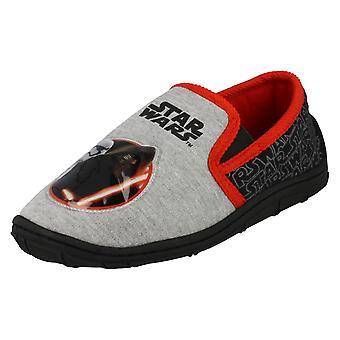 Boys Starwars Trait Slippers