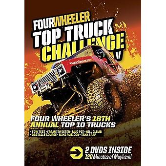 Four Wheeler Top Truck Challenge V [DVD] USA import