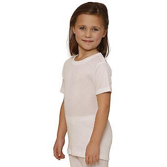OCTAVA niñas ropa interior térmica manga corta t-shirt / chaleco / superior
