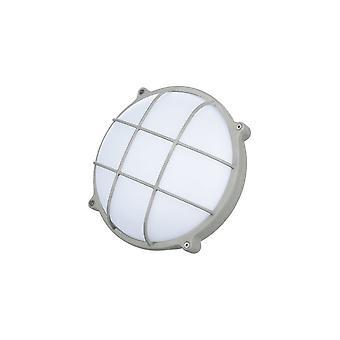 Timeguard Runde Graphit grau schraffieren 25W LED Outdoor-Trennwand