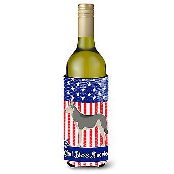 Saarloos Wolfshundes amerikanischen Weinflasche Beverge Isolator Hugger