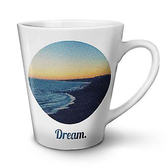 Ocean Beautiful Nature NEW White Tea Coffee Ceramic Latte Mug 12 oz | Wellcoda