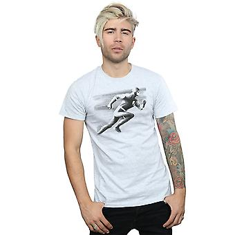 DC Comics Men's The Flash Spot Racer T-Shirt