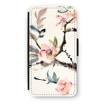 iPod Touch 6 Flip fodral - Japenese blommor