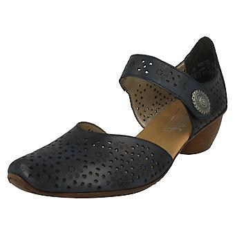 Ladies Rieker Heeled Shoes 43711