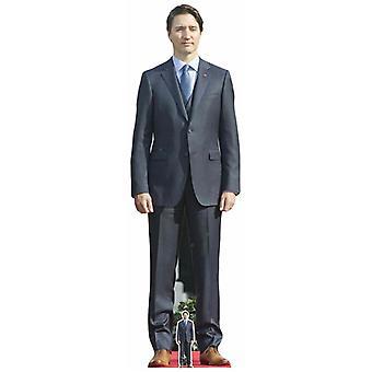 Justin Trudeau Lifesize Cardboard Cutout / Standee