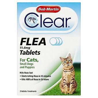 Bob Martin Flea comprimidos para gatos e cães pequenos
