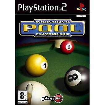 International pool Championship (PS2)-fabriken förseglad