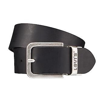 Los pantalones vaqueros de Levi BB´s cinturones hombre cinturones cuero correa WendeGürtel marrón/negro 4221