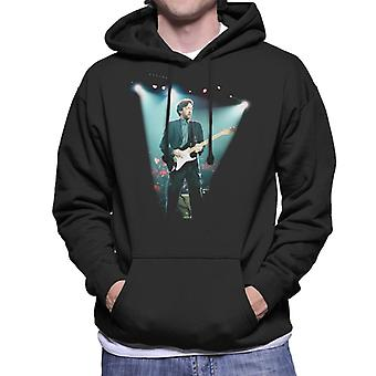 Eric Clapton On Stage Brighton Centre 1992 Men's Hooded Sweatshirt