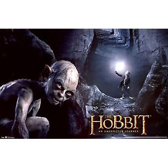 The Hobbit - Gollum affisch Skriv