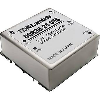 TDK-Lambda CCG-30-24-05S DC/DC converter (stampa) 5 V 6 A 30.0 W No. uscite: 1 x