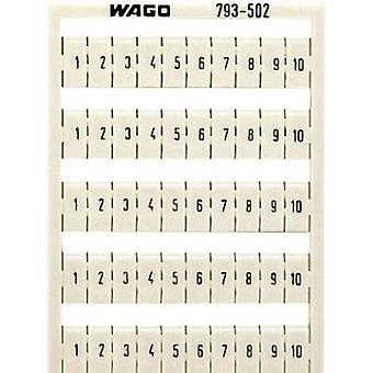 WAGO 793-502 Etiketten Impressum: 1-10 1 PC
